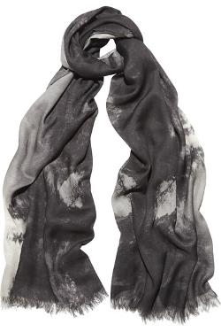 Stella Mccartney  - Hampstead Printed Modal And Silk-Blend Scarf
