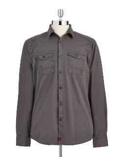 Strellson  - Solid Button-down Shirt