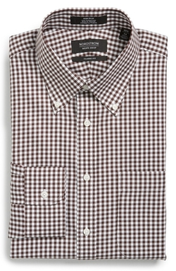 Nordstrom  - Gingham Dress Shirt