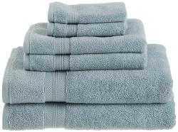 Pinzon  - Low Twist Pima Cotton 650-Gram 6-Piece Towel Set