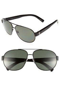 Dolce & Gabbana - Polarized Aviator Sunglasses