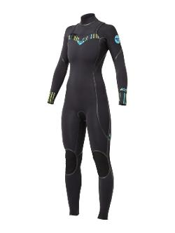 ROXY - Ignite 3/2MM ls chest zip wetsuit