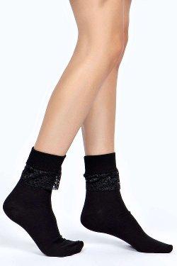 Boohoo - Alexus Lace Frill Ankle Socks