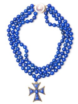 CB Bronfman  - Cross Beaded Necklace