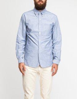 Engineered Garments - 19 Century Bd Blue Dobby Shirt