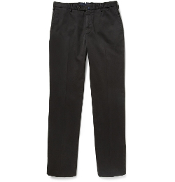 Incotex - Relaxed-Fit Cotton-Blend Chino Pants