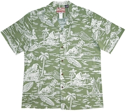 RJC - Hawaiian Aloha Cotton Shirt