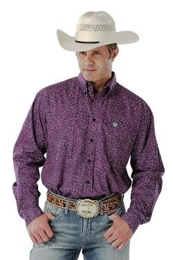 Cinch - Paisley Print Western Shirt