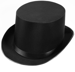 Forum - Satin Top Hat