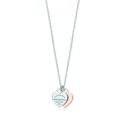 Return to Tiffany - Double Heart Pendant