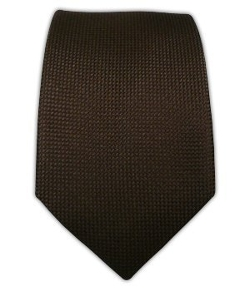 The Tie Bar - Woven Silk Solid Textured Skinny Tie