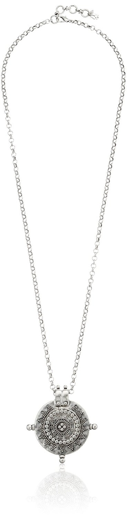 Lucky Brand - Medallion Pendant Necklace