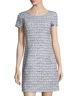 Oscar De La Renta - Tweed Sheath Dress
