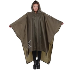 Rain Poncho - Waterproof Lightweight Rain Poncho