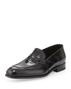 Tom Ford - Charles Leather Penny Loafer Shoes