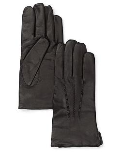 Bloomingdale -  Cashmere Lined Leather Gloves