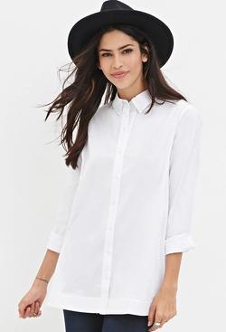 Forever 21 - Cotton-Blend Shirt