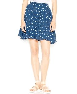 Maison Jules - Polka-Dot-Print Skirt