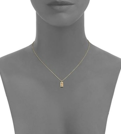 Kwiat - Small Tag Pendant Necklace