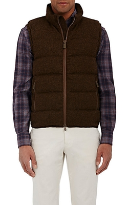 Aspesi  - Flannel Quilted Vest
