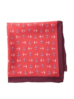 Countess Mara State - Anchor Novelty Pocket Square