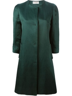 Alberto Biani - Collarless Coat