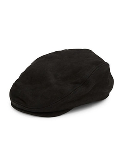 Crown Cap  - Nubuck Leather Ivy Cap