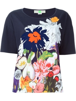 Stella Mccartney   - Floral Print T-Shirt
