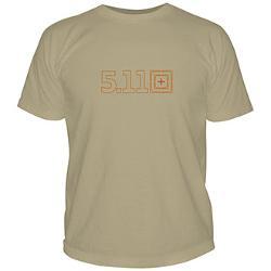 5.11 Tactical  - Short Sleeve Logo Target T Shirt