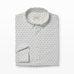 Club Monaco - Slim-Fit Micro Geo-Dot Shirt