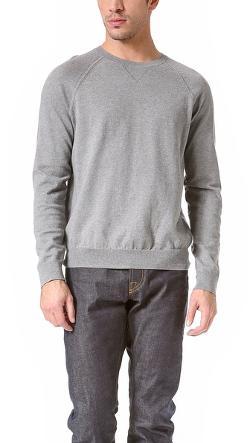 Vince - Italian Cotton Crew Neck Sweater