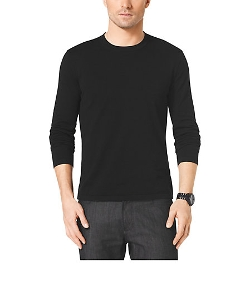 Michael Kors  - Long-Sleeve Cotton T-Shirt