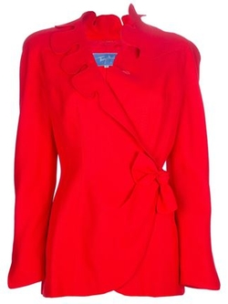 Thierry Mugler Vintage - Scalloped Lapel Blazer