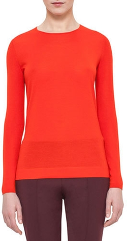 Akris - Jewel-Neck Pullover Sweater