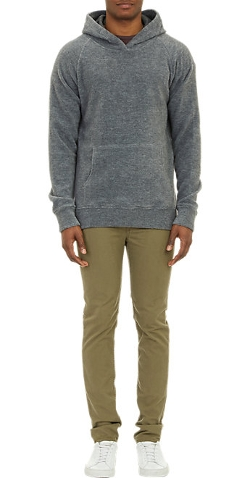 Barneys New York - Reverse-Fleece Hoodie Sweatshirt