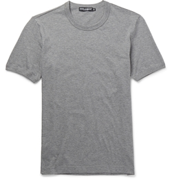 Dolce & Gabbana - Slim-Fit Crew Neck Cotton-Jersey T-Shirt