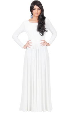 Koh Koh - Long Sleeve Maxi Dress