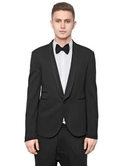 Neil Barrett  - Jersey Viscose Tuxedo Jacket