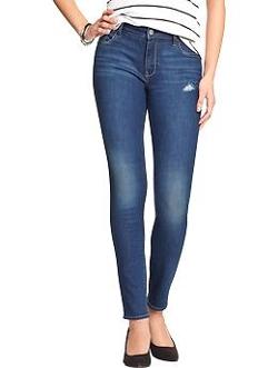 Old Nav - The Rockstar Mid-Rise Skinny Jeans