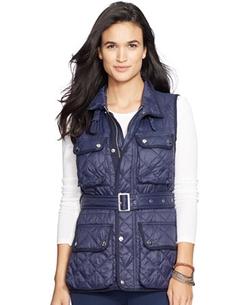Lauren Ralph Lauren  - Quilted Nylon Vest