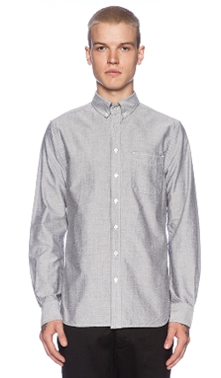 Wings + Horns - Monogram Oxford Button Down Shirt