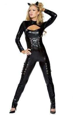Musotica  - Sexy Deluxe Catsuit Girl Halloween Costume
