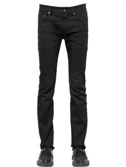 Saint Laurent  - Slim Stretch Cotton Denim Jeans