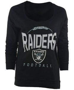 5th & Ocean - Oaklan Raiders Football T-Shirt