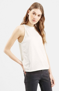 Topshop - High Neck Tank Top