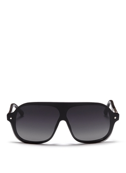3.1 Phillip Lim - Acetate Shield Aviator Sunglasses