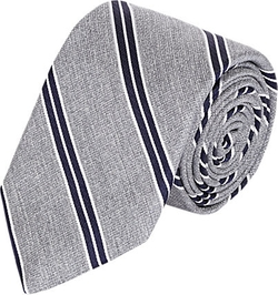 Barneys New York - Diagonal Stripe Neck Tie