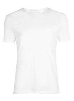 Topman - White Lightweight Jersey T-Shirt