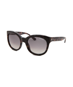 Yves Saint Laurent -  Round Dark Tortoise Sunglasses
