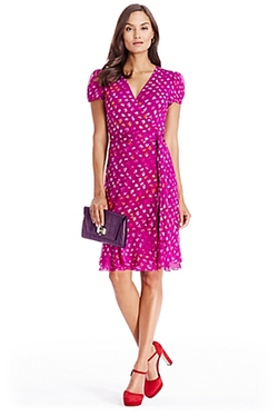 DVF - Ruffle Wrap Dress